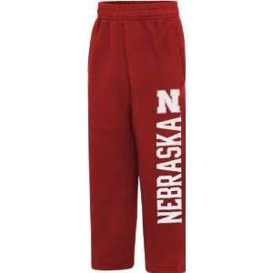 Nebraska Cornhuskers Youth Red Big Print Sweatpants