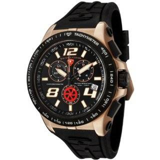 Swiss Legend Mens 80040 RG 01 BB Sprint Racer Collection Chronograph