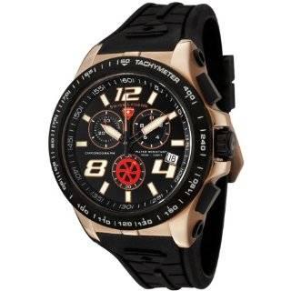 Swiss Legend Mens 80040 RG 01 BB Sprint Racer Collection Chronograph