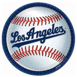 Lets Party By Amscan Los Angeles Dodgers Baseball Round