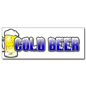: 24 COLD BEER 1 DECAL sticker ice drink cart stand: Everything Else