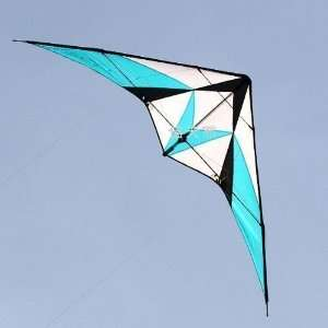 Dual line 7.9 Feet/2.4 Meter Power Stunt Kite   Patriot Blue Sports