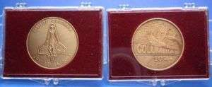 Space Shuttle Columbia Commemorative Bronze Coins