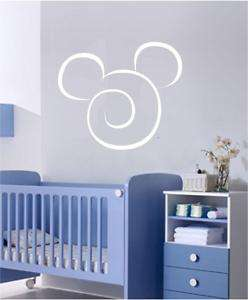 Disney Mickey Mouse Kid Room Wall Vinyl Decal Sticker