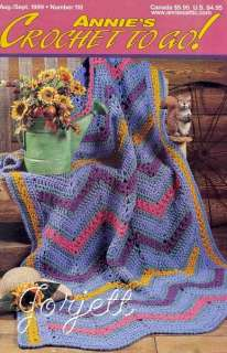 Annies Crochet To Go No. 118, Aug Sept 1999