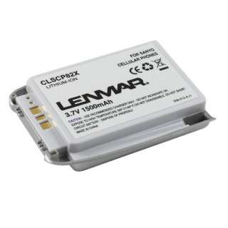 Cell Phone Battery for Sanyo SCP 8200 PM 8200 Replaces SCP11LBPS