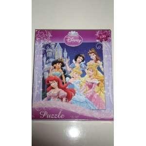 Princess 100 Piece Puzzle   Princesses By a Castle Toys & Games