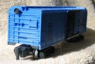 Scale American Flyer B & M Box Car # 24056 With Two Hand Trucks