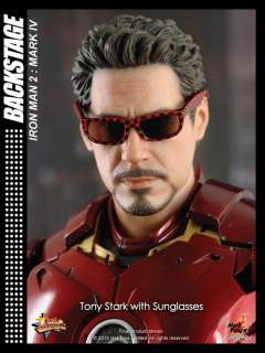 HOT TOYS IRONMAN 2 MARK IV 4 TONY STARK + DONUT READY