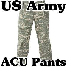 Army Combat Uniform Cargo Pants Trousers Bottoms 718020487663