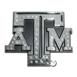 Chrome NCAA College Sports Premium Metal Car Truck Motorcycle Emblem