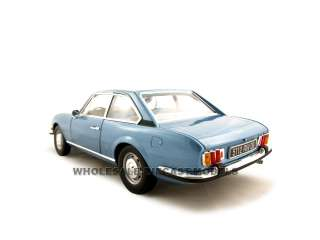 1970 PEUGEOT 504 COUPE BLUE 118 DIECAST MODEL NOREV