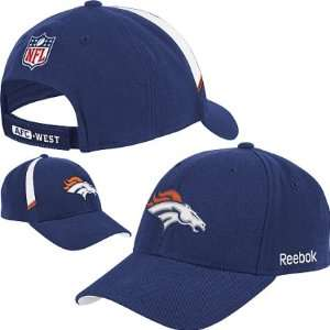 Denver Broncos NFL Reebok Coaches Adjustable Hat
