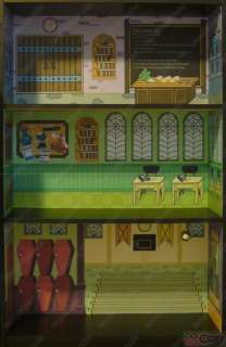 High School Doll House Bookcase Kit   Creepateria Mad Science Home Ick