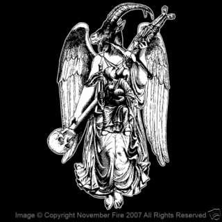 Samael Shirt Archangel Angelic Name Satan Death Skull