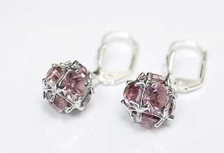 each colour purple stone use swarovski austrian crystals the item is