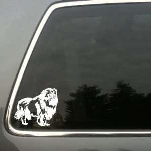 Rough Collie Dog vinyl decal Shetland Sheepdog sm