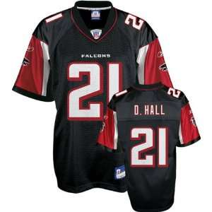DeAngelo Hall Black Reebok NFL Replica Atlanta Falcons Youth Jersey
