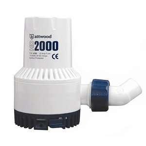 Attwood Heavy Duty Bilge Pump 2000 Series   12V   2000 GPH