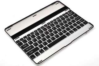 New Aluminum Ultra thin&light Wireless Bluetooth KeyBoard Stand Case