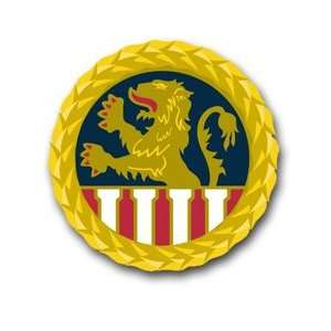 United States Army 1st Personnel Command Unit Crest Decal Sticker 3.8