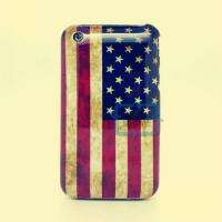 United States US USA FLAG HARD CASE COVER FOR iPhone 3 3G 3GS
