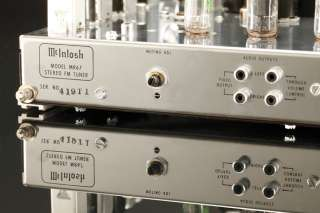 McIntosh MR67 Vintage Audiophile Tube FM Stereo Tuner MR 67 Late