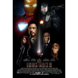 Iron Man 2 Original 27 X 40 Theatrical Movie Poster