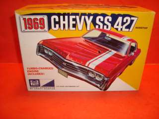 AMT 1969 Chevy Impala Ht. SS427 Model Car Kit