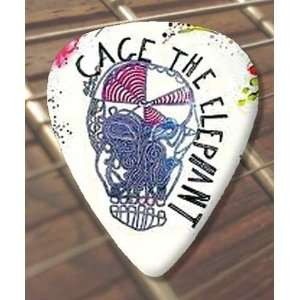 Cage The Elephant Premium Guitar Pick x 5 Medium Musical