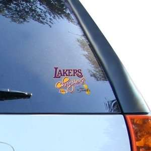 Los Angeles Lakers 2009 NBA Champions Ultra Decal Cling