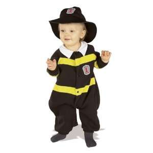 Toddler Infant Baby Fireman Halloween Costume (12 24M