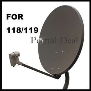 24 SATELLITE TV ANTENNA ANIK F3 DISH NETWORK 118 118.7