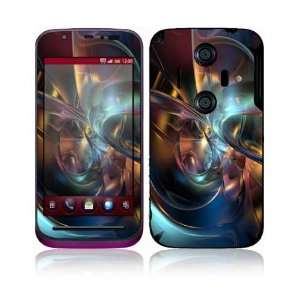 Sharp Aquos IS12SH Decal Skin Sticker   Abstract Space Art