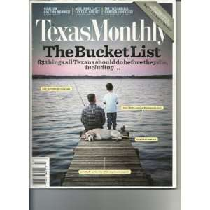 Texas Monthly March 2010 Texas Monthly Books