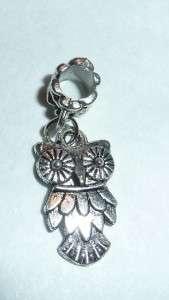 Animal Charms  Fit our Charm Bracelets & Necklaces  Rabbit, Owl, Cat