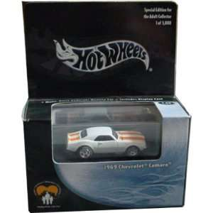 Hot Wheels 100% CHARITY 1969 Chevrolet Camaro Black Box