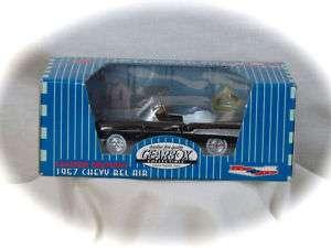 1957 CHEVY BELAIR BLACK GEARBOX *MINI* REPLICA PEDAL CAR LTD.ED #68251