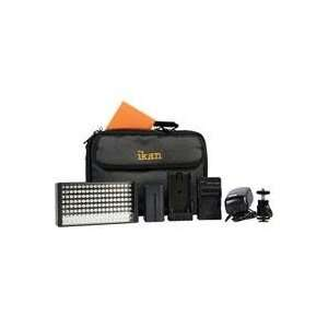 Ikan iLED155 LED Light Deluxe Kit with Canon DV Battery