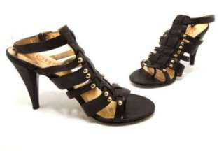 Michael Kors Brown Gladiator Sandals/Pump w/Studs US 8