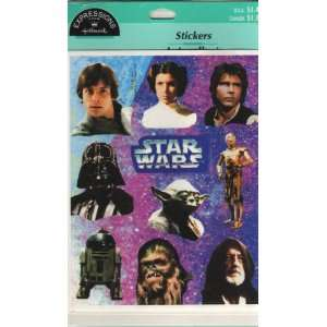 Star Wars Trilogy Stickers Toys & Games