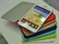 New OEM Flip Case cover for Samsung Galaxy Note N7000 I9220 * 8 Colors