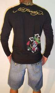 New Black Ed Hardy Long Sleeve Shirts GET 40%OFF NOW
