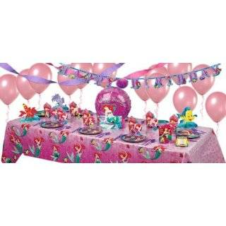Little Mermaid Party Supplies Super Party Kit