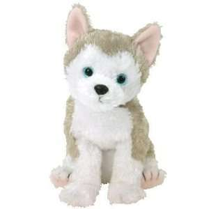 TY BEANIE BABIES / BABY   JUNEAU Husky Dog 13th Generation
