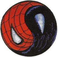The Amazing Spider Man Yin Yang, Good Evil Logo Patch