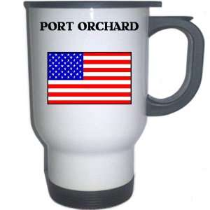 US Flag   Port Orchard, Washington (WA) White Stainless