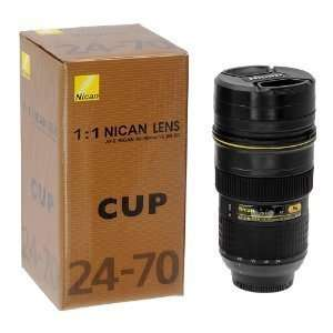 Fotodiox thermal lens cup with stainless steel insulated tumbler, mug