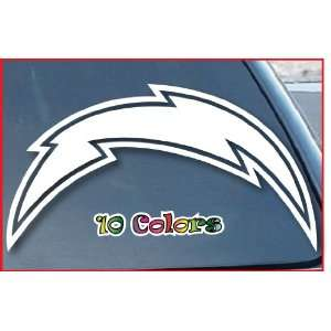 San Diego Chargers Car Window Vinyl Decal Sticker 4 Wide (Color