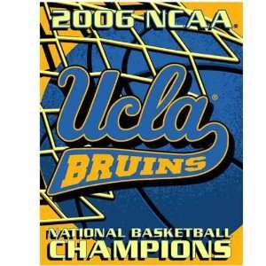 UCLA Bruins 2006 National Champions 48 x 60 Blanket Throw Sports